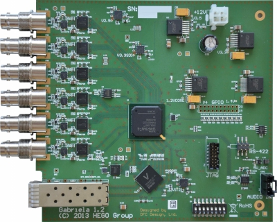 3G HD SDI to 10 Gbit Converter